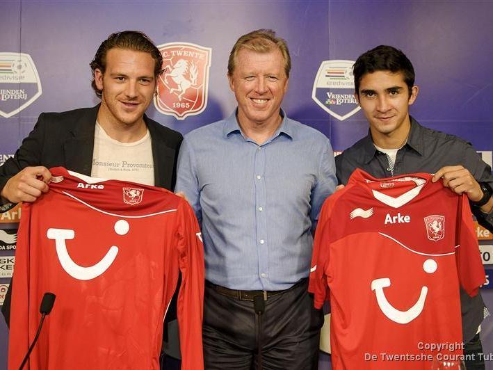 FC Twente presenteert Schilder en Gutiérrez Felipe Foole Schilder