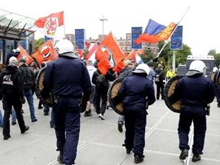 Werknemer deed mee aan demonstratie NVU