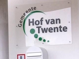 Maandag voorkeur burgemeester Hof van Twente bekend