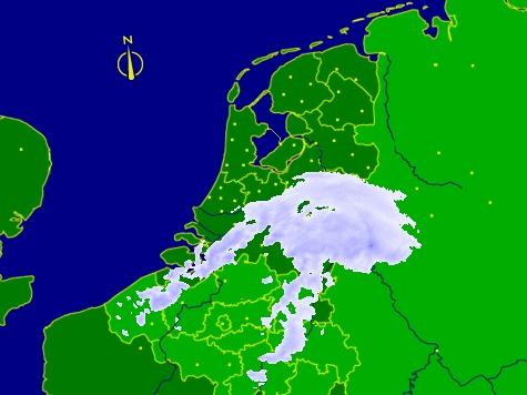 Lange files op a1 en a28 door sneeuw for Kebabzaak amsterdam