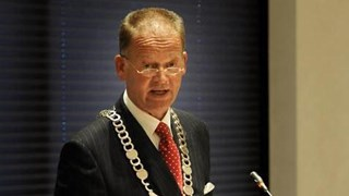 Burgemeester Roel Cazemier