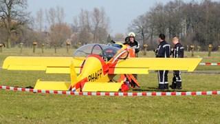 Ongeluk met vliegtuigje bij Teuge