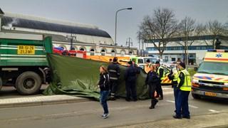 Ongeluk op Stationsplein