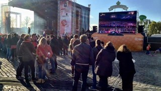 Tv-scherm Rodetorenplein Zwolle