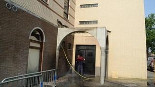 Brand in moskee Deventer in augustus