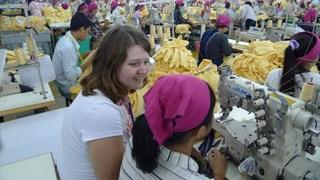 Margo Kosters in Cambodja