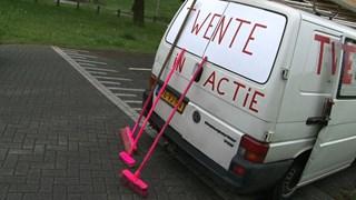 actievoerders verzamelen in Zwolle