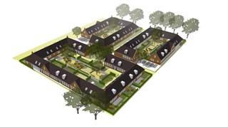Ontwerp Knasse Knarrenhof in Aalanden in Zwolle