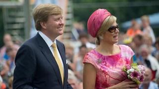 Koning Willem-Alexander en koningin Màxima