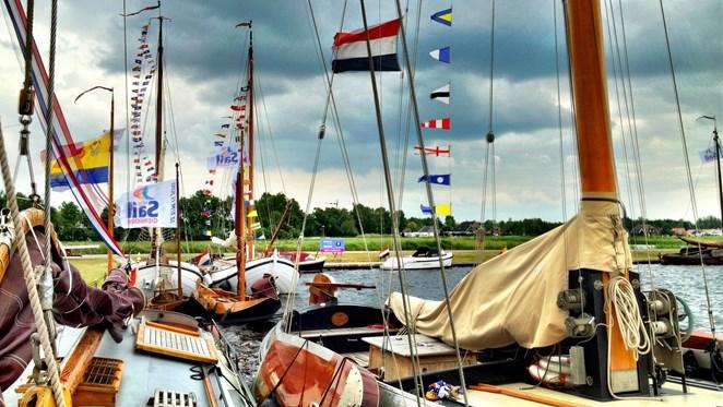 LIVE: Beelden webcam laatste dag Sail Giethoorn