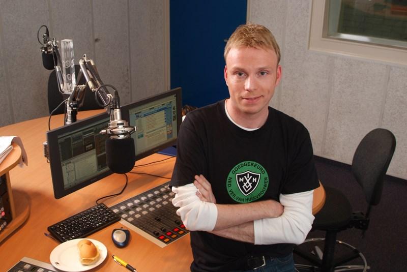 Bert van Losser nieuwe presentator KlaarWakker