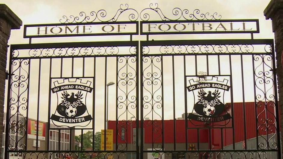 Actie stadionmuur Go Ahead Eagles Deventer stopt vanwege ...