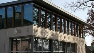 Het gemeentehuis in Raalte