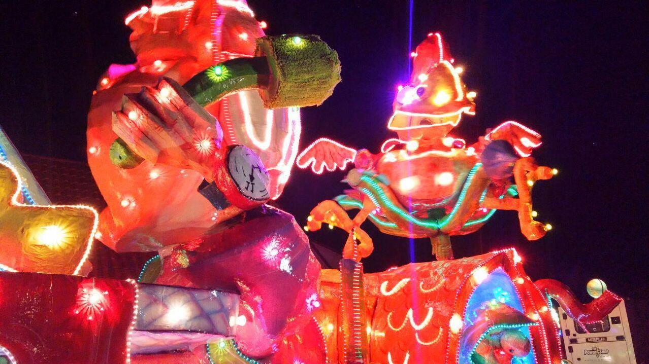 Verlichte carnavalsoptocht Lemelerveld finale van alle optochten in ...