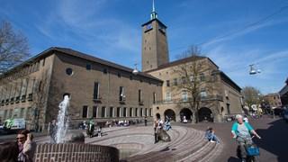Het stadhuis van Enschede