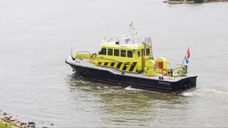 Rijkswaterstaat hielt het scheepsvaartverkeer tegen