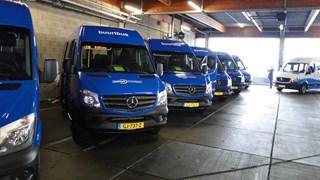 Streekbussen Syntus blijven vandaag in de garage