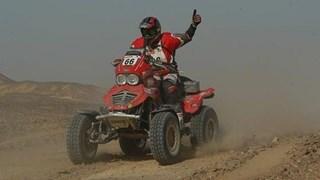 Johan Reuver heeft zelfs Parijs-Dakar op de Quad gereden