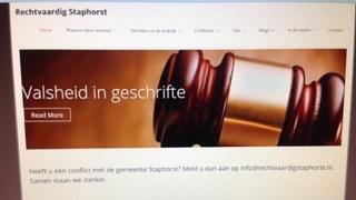 Gedupeerden maken vuist tegen gemeente Staphorst