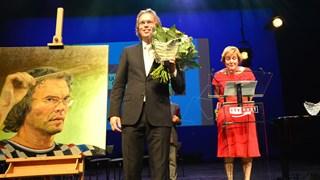 Carl Wittrock won de Cultuurprijs Overijssel 2014