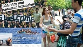 Vluchtelingen trekken massaal naar Europa