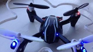 Drones nemen het platteland over