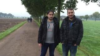 De twee uitgevallen Syrische broers