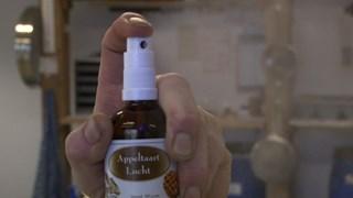 Appeltaartgeur uit een flesje