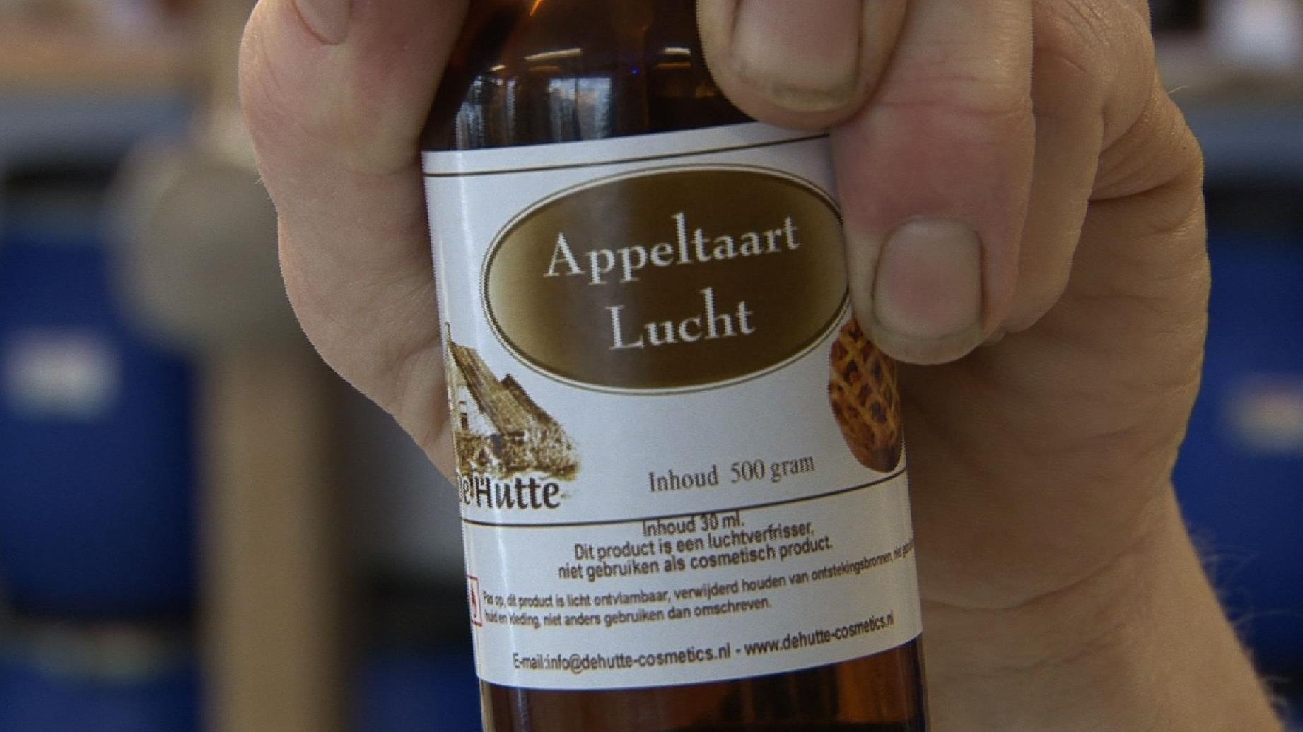 Geur van appeltaart uit een flesje blijkt stimulans voor huizenverkoop
