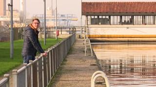 Arijan van Bavel, hier bij pretpark De Waarbeek, en zijn partner Joris zijn na tien jaar uit elkaar