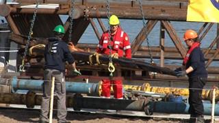 Werkzaamheden bij de IJssel in Kampen