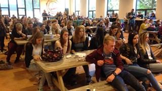 Alle leerlingen van AOC Oost Enschede zitten klaar voor de Duitse middag