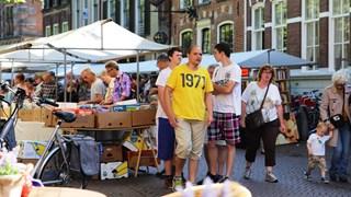 Boekenmarkt in Deventer vorig jaar