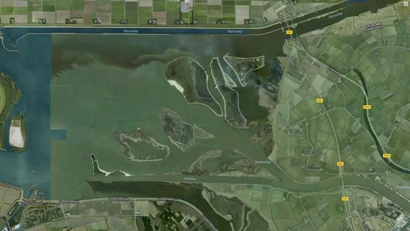 Vijf eilandjes in IJsselmonding bij Kampen hebben nu een naam