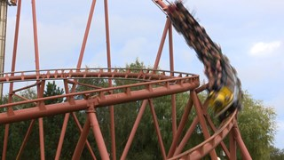 Laatste rit in Looping Star