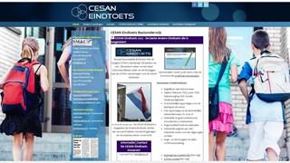 De site van de Cesan Eindtoets
