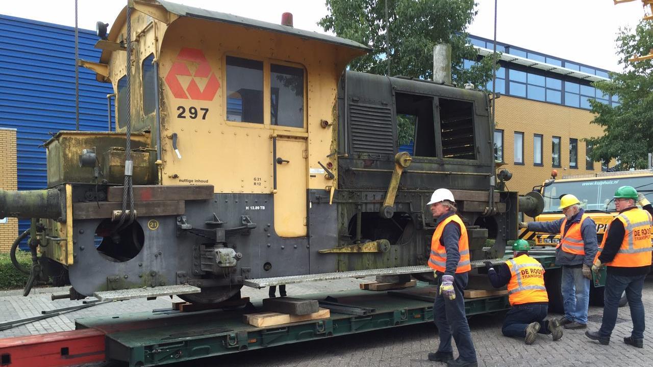 Stichting Industrieel Erfgoed Deventer gaat monumentale locomotief renoveren
