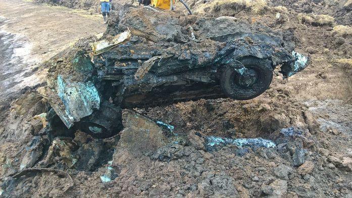 Verbazing bij Project Ruimte voor de Rivier over vondst van oude Ford
