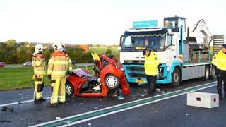Het ongeluk op de N50