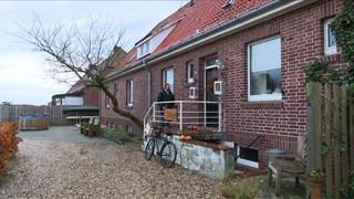 Het huis van Herman Lamberink en zijn vrouw in Duitsland.