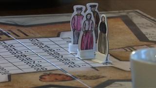 Het bordspel is gebaseerd op de Kolonie van Weldadigheid