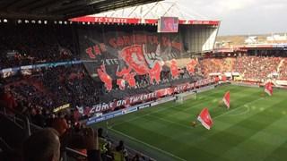 sfeeractie supporters Vak P FC Twente