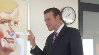 Ton Strien, burgemeester Olst-Wijhe