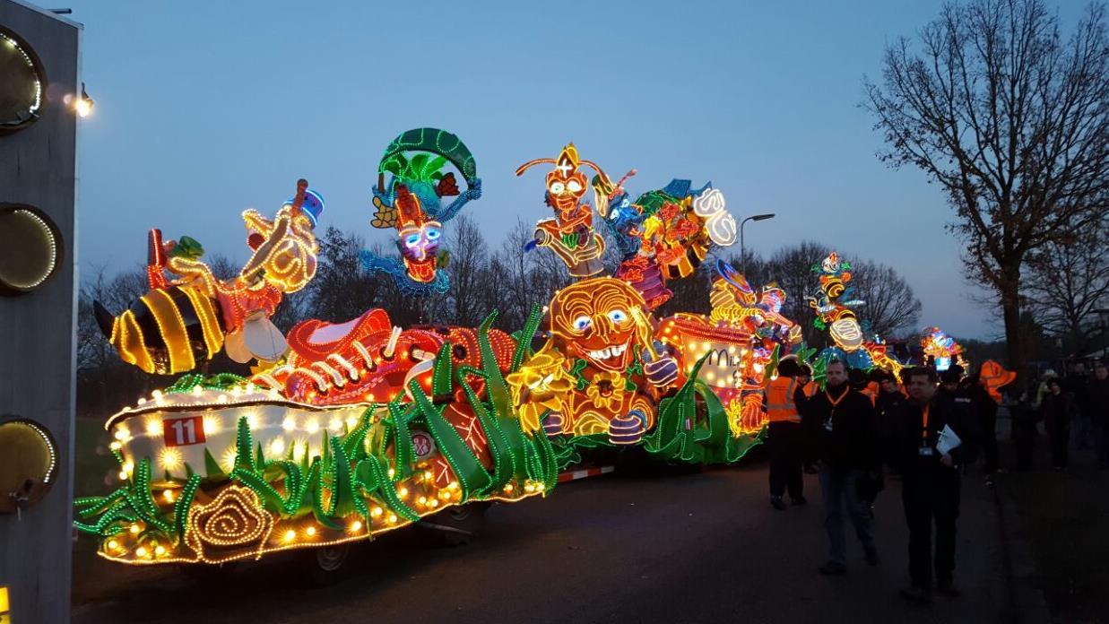 Terugkijken: Twentse Verlichte Carnavalsoptocht in Tubbergen