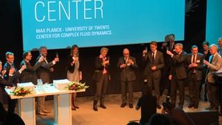 Max Planck Centrum Enschede geopend.