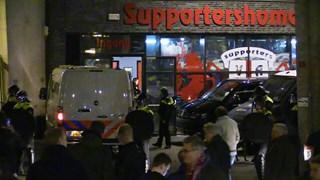 Onrust stadion Twente supportershome Vak-P