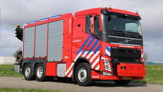 brandweerwagen brandweerauto VR Twente
