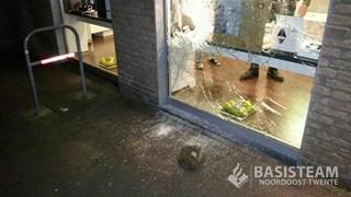 Ruit juwelier in Denekamp vernield
