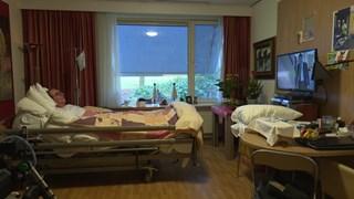 Barend Kleyne Snuverink wil blijven leven tot hij niet meer kan communiceren of tv kijken.
