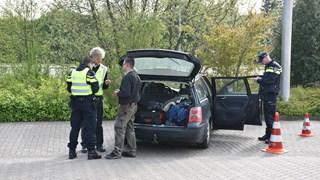 Auto gecontroleerd door politie